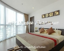 For rent - Skywalk condo 52sqm glass-wall bedroom