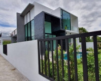 Modern house with private swimming pool